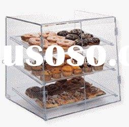 acrylic bakery counter, acrylic cake showcase, acrylic bread holder, acrylic pie exhibitor, acrylic