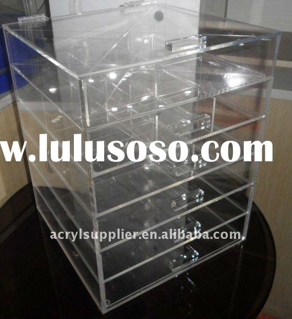 acrylic cosmetic storage drawers