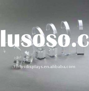 acrylic watch display cube with C clip