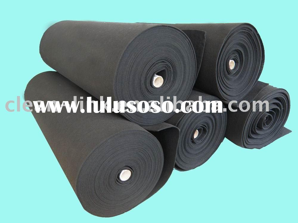 activated carbon filtrer material