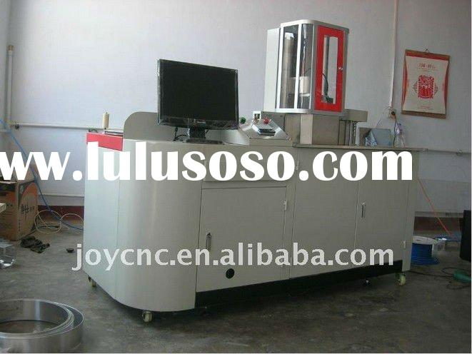 auto channel letter bending machine for metal sheet
