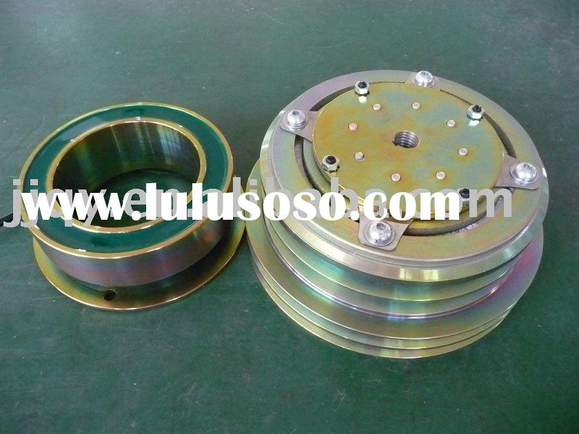 automobile AC electromagnetic clutch assembly