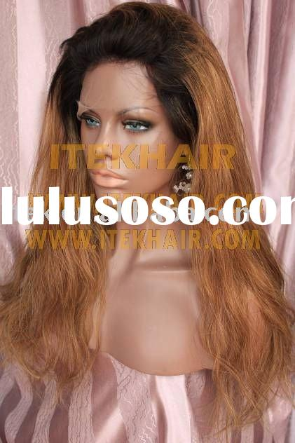 beyonce style Fashion beautiful human hair Full lace wig