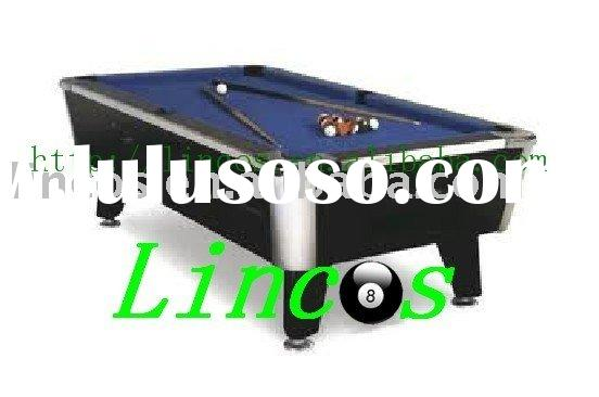 birch solid wood slate coin operated pool table
