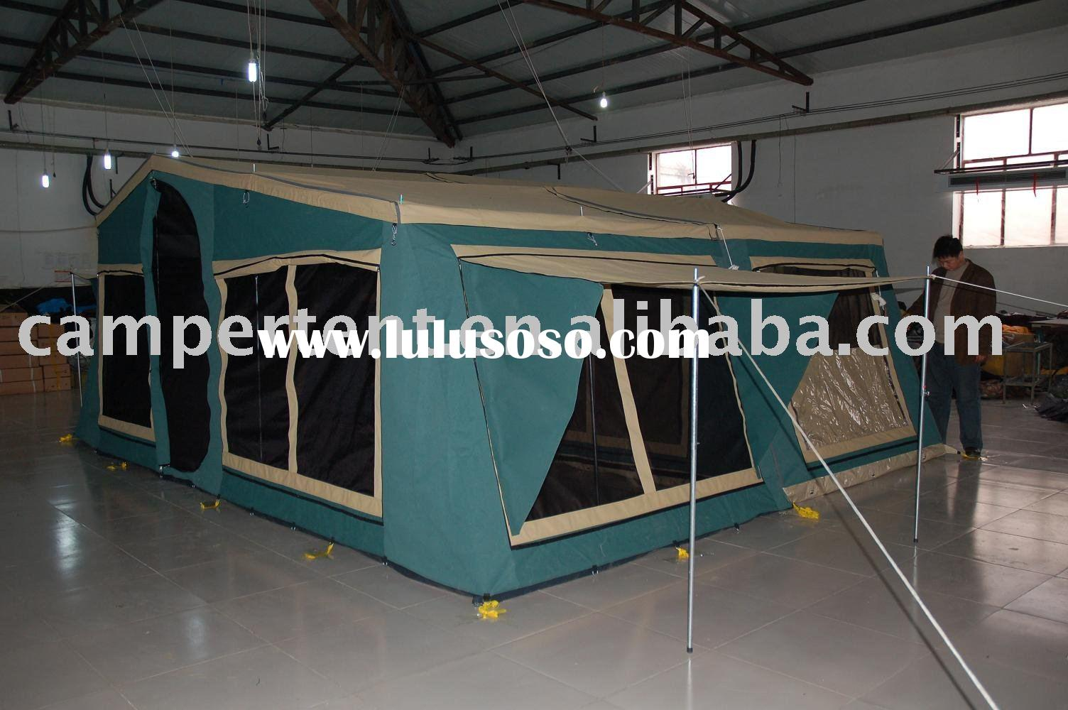 camping trailer tent 6004 for 6-8 person
