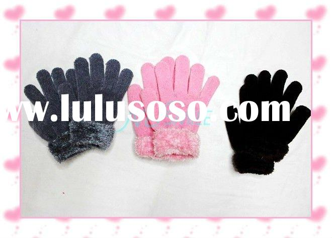 cheap knitted winter gloves and mittens NUS03Y006