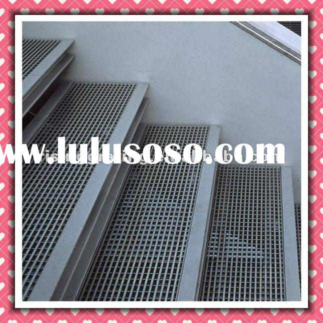 checkered plate steel stair nosing