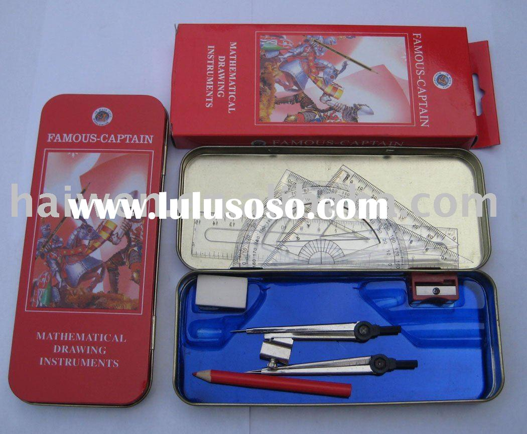 compasses set,mathematical instruments,math set,mathematical set/math set/compass set,pencil box/sta
