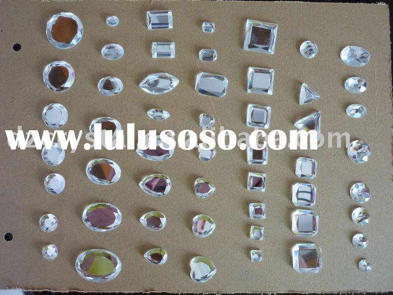 crystal glass decoration,glass crystal beads,crystal glass accessories