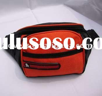 custom promotional waist pouch in cheap price and your own design
