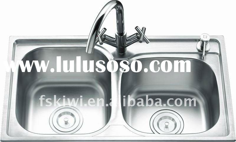 double kitchen table sinks stainless steel