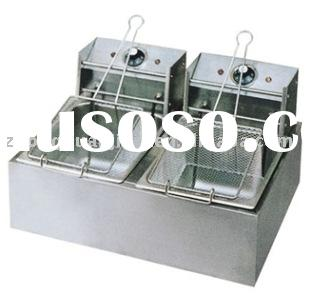 electric chips fryer for restautant use (YXG-10*2)