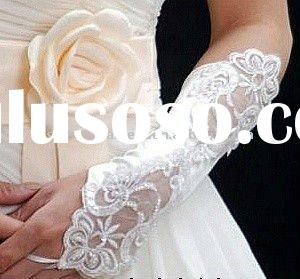 fashion nice lace wedding bridal gloves