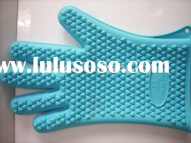five fingers silicone glove