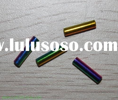 fly fishing tying brass tube beads iridescence
