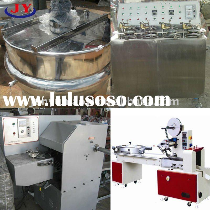 full automatic candy machine production line making hard candies, candy bars
