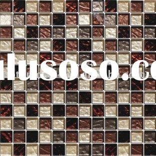 glass tile, glass mosaic, crystal mosaic tile PT823-Y58G