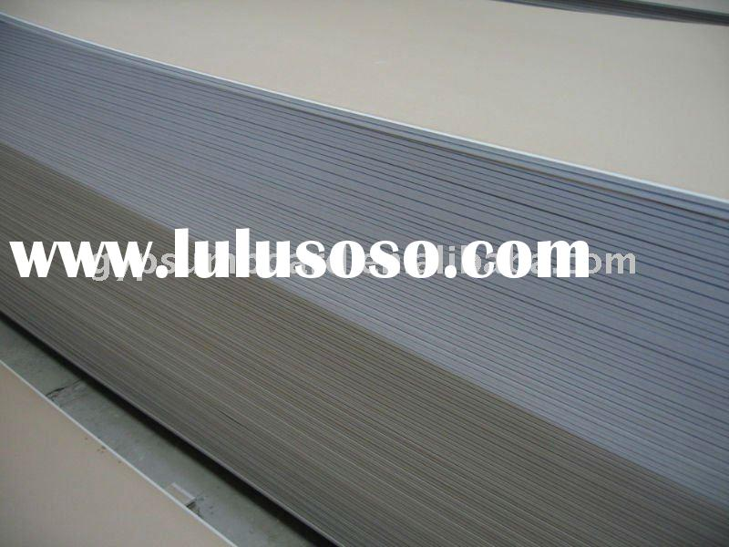 gypsum board for partition wall and ceiling suspention