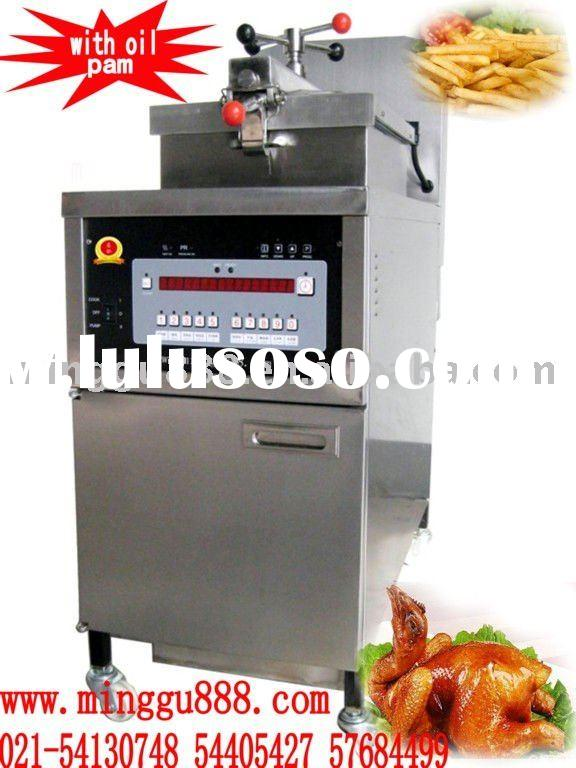 henny penny electric chicken pressure fryer with Oil Pump (CE Approval,Manufacturer )