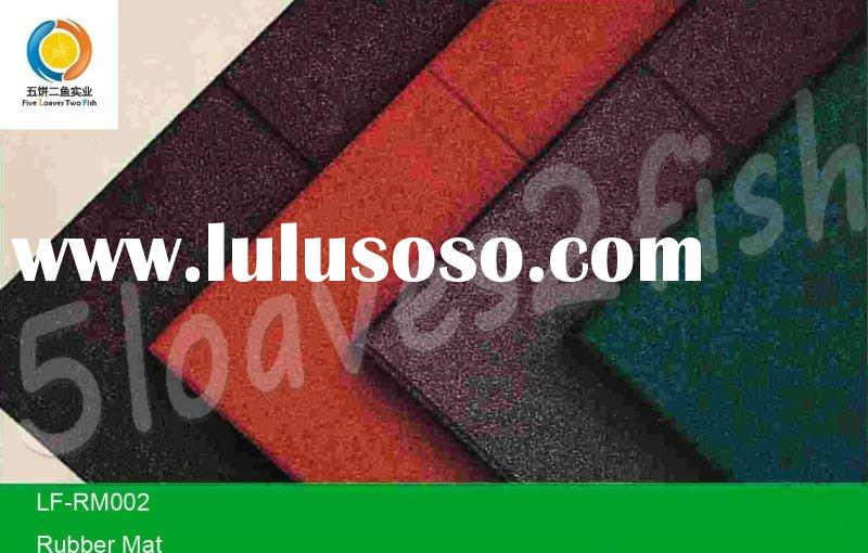 hot sale outdoor playground rubber mat for sports