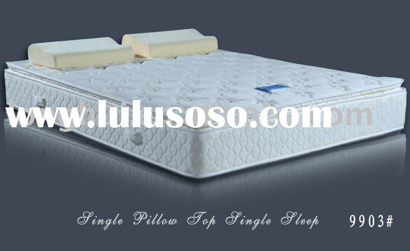hotel model memory foam pillow top mattress