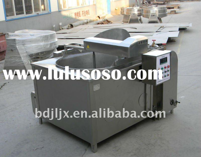 industrial gas deep fryer