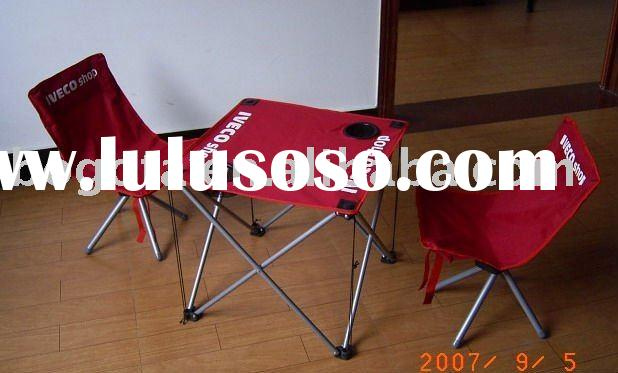 kids folding beach chair and table /small chair