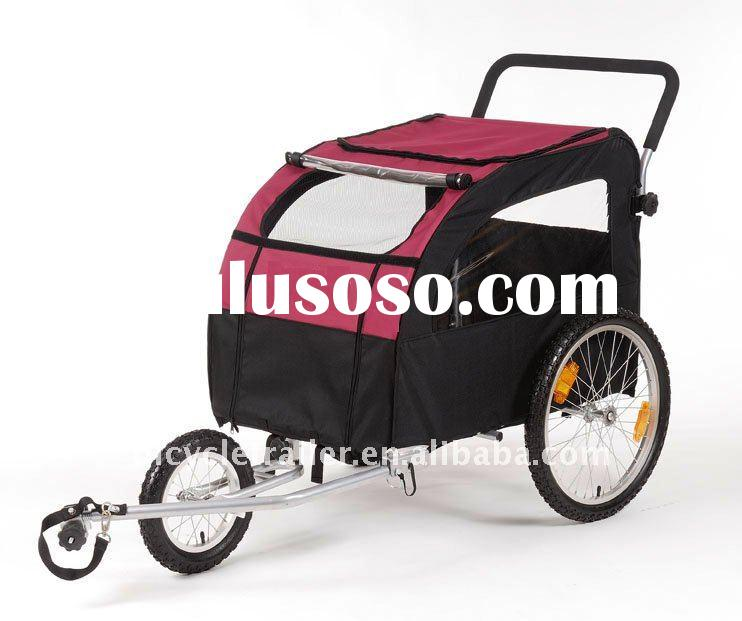 large bicycle pet trailer