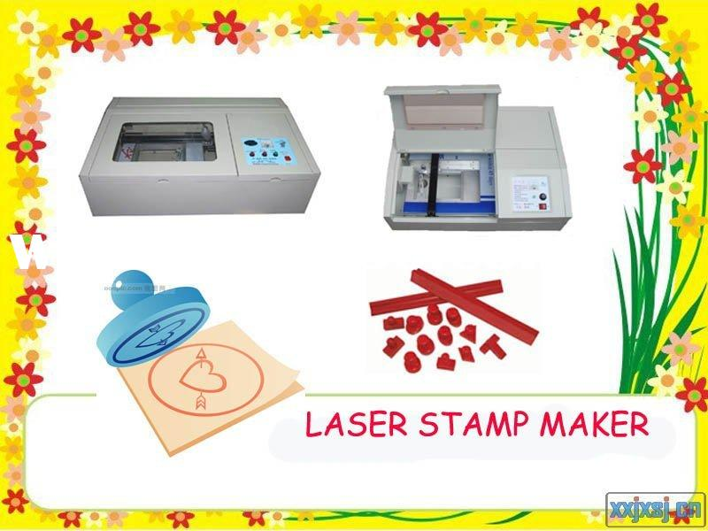 laser stamp maker/stamp making laser engraving machine(rubber,plastic,paper)