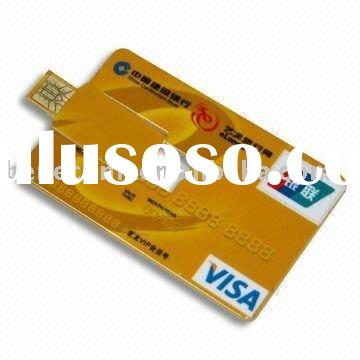 memory card,credit card usb flash disk with FCC,ROHS,CE