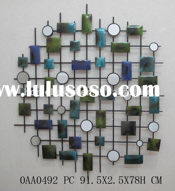 metal abstract home decorative wall art