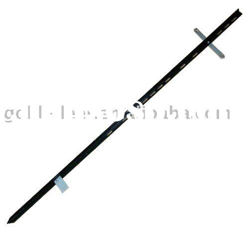 metal sign stake; steel sign stake