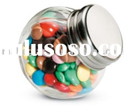 mini glass jar for candy