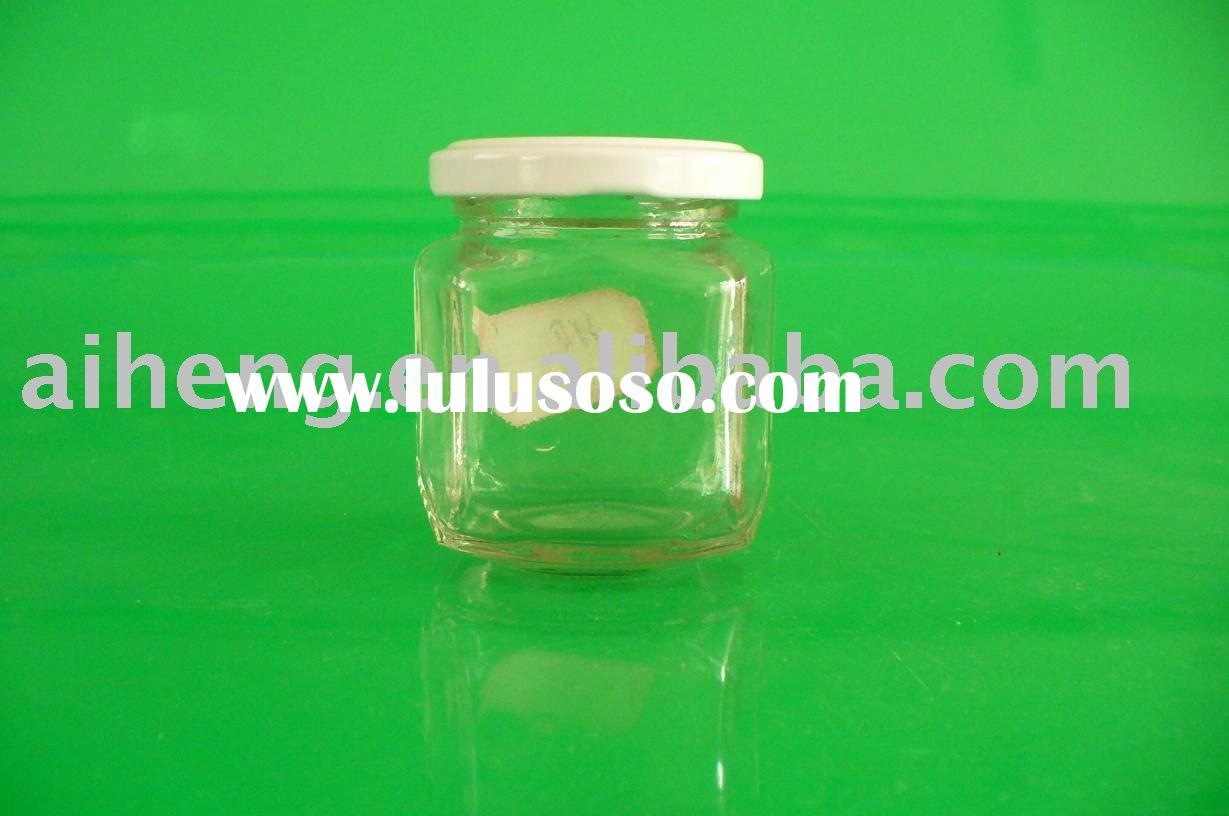 mini glass jar for honey