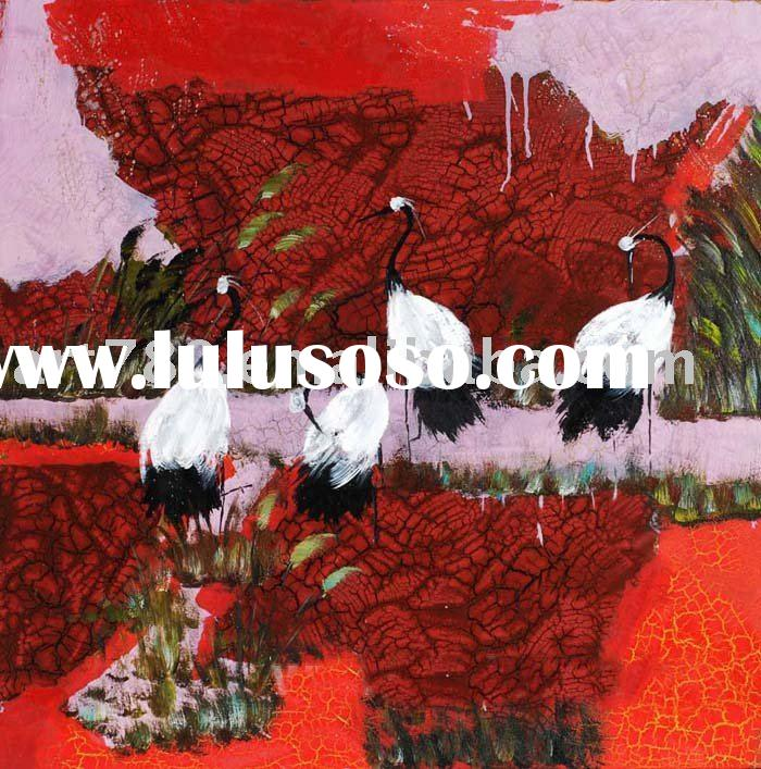 modern art picture,animal painting,impressionist oil painting