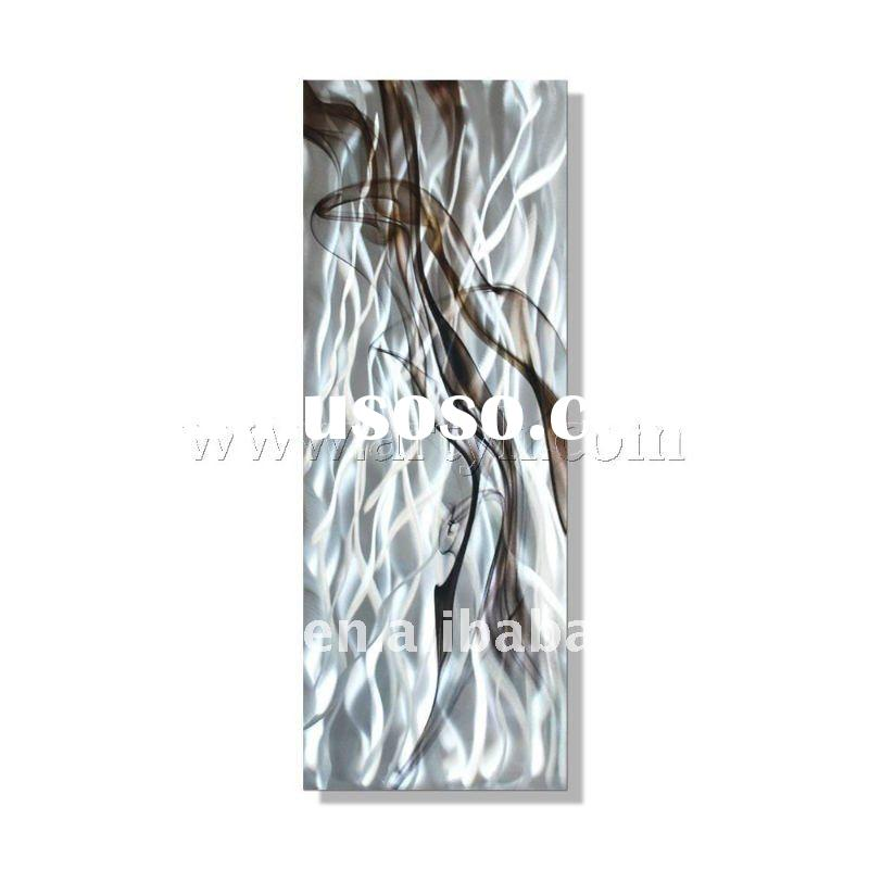 modern metal wall art for decoration