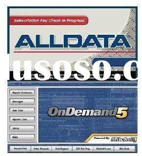 newest alldata mitchell on demand 2011 in 500GB HDD---professional auto repair software