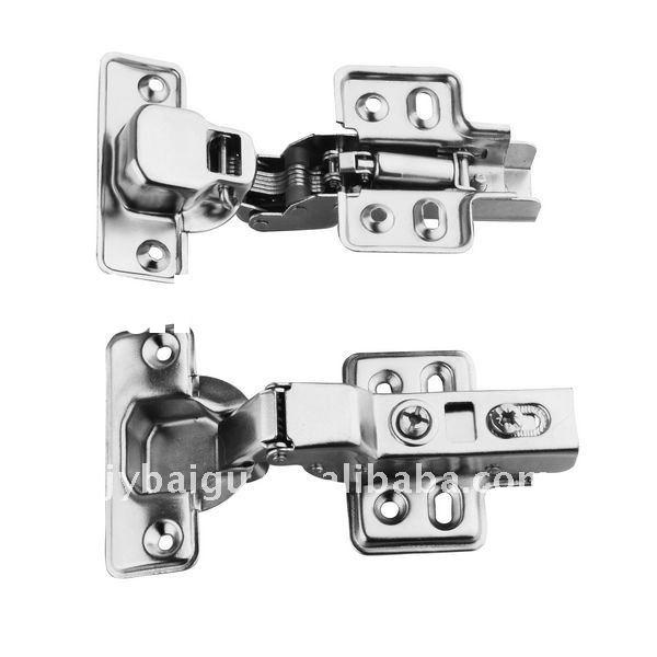non-removable hydraulic hinges