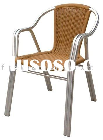 outdoor furniture/ aluminum wooden chair/beach chair/ garden furniture