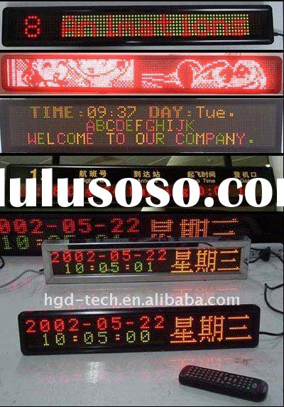 outdoor/semi-outdoor/indoor LED Moving Sign Display