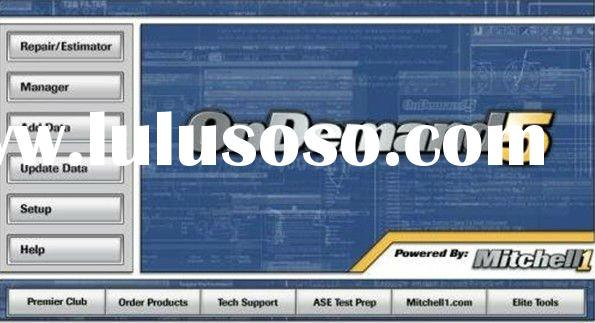 professional mitchell auto repair software on demand 5.8