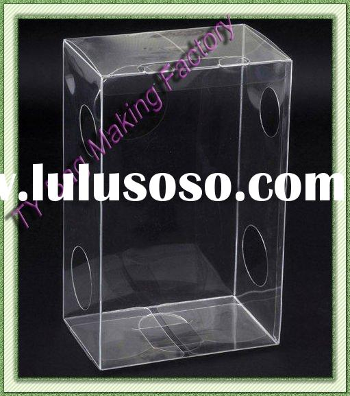 promotional fancy pvc doll display box