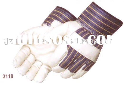 safety leather glove