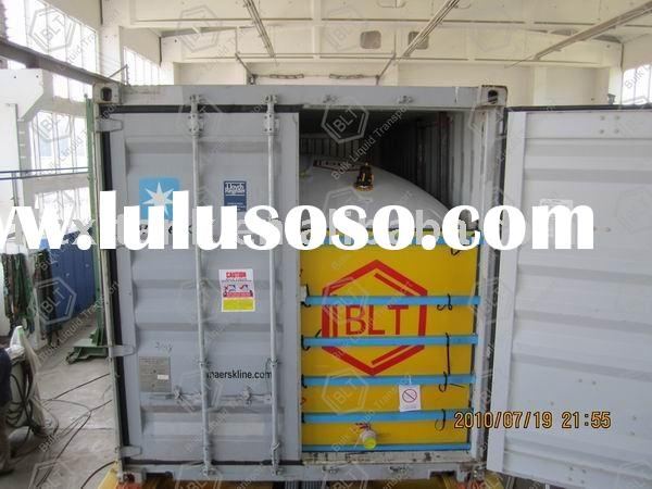 shipping container for bulk wine