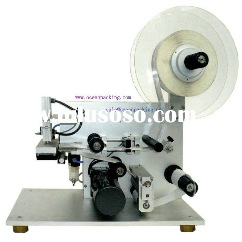 small scale sticker labeling machine for bottles