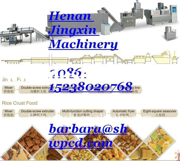 snack food processing machinery 0086-15238020768