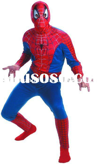 spiderman costume, hero costume, halloween costume, adult costume, men costume
