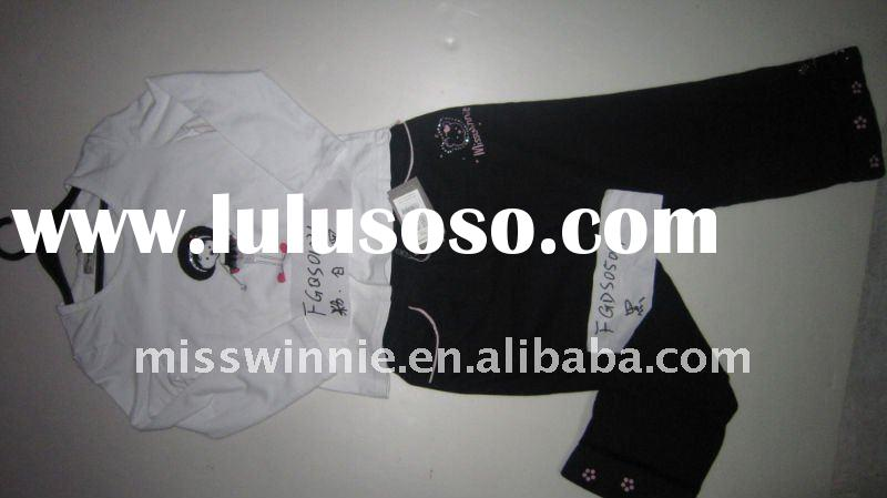 stock girl's garment with fast shipment