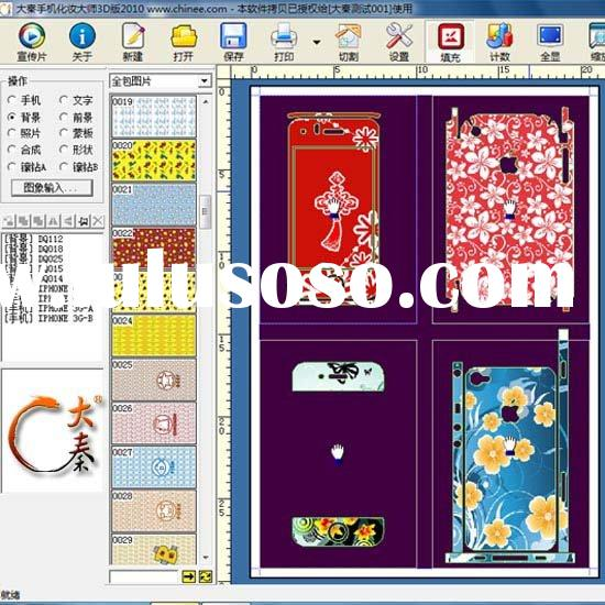 system of making mobile phone skin,cell phone skin printing
