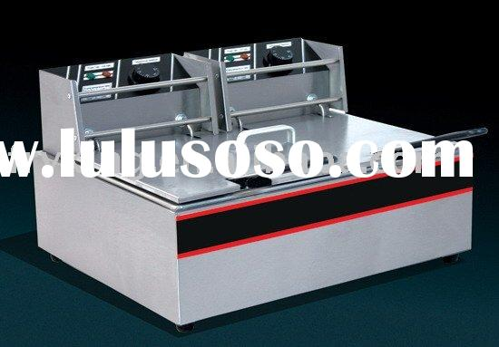 table top electric fryer(2 tanks)